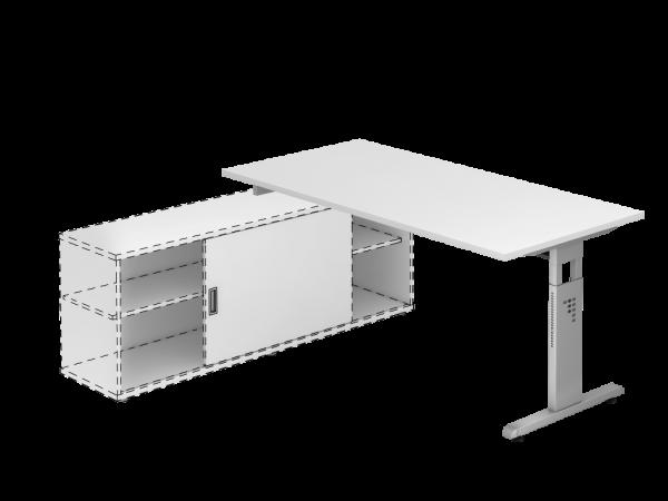 Auflage Schreibtisch Dekor Weiß
