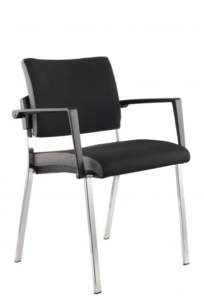4 Fuß Stuhl schwarz