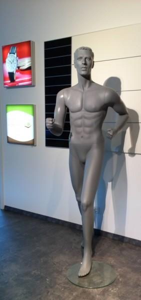 Sportfigur Läufer