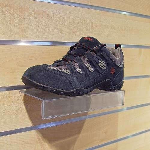Schuhkonsole mit Etiketteneinschub
