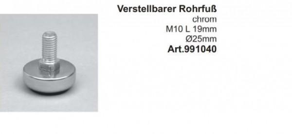 Stellfuß für Rohre ø25mm