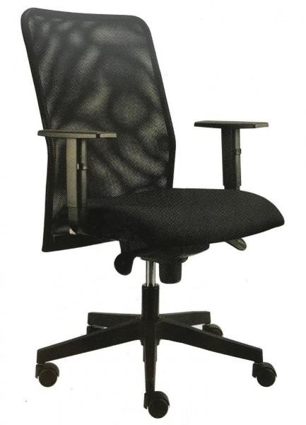Schreibtischstuhl - Bürodrehstuhl mit hohem Netzrücken