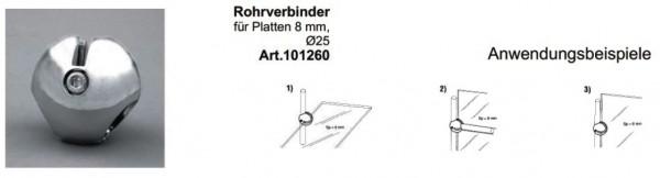 Rohrverbinder 25mm