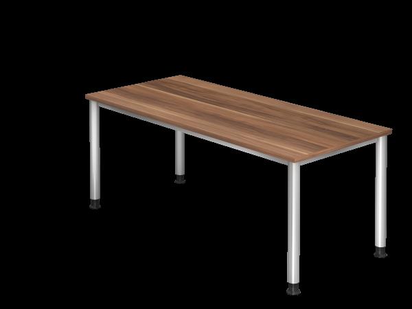 Schreibtisch 180x80cm Dekor Z-Zwetschge