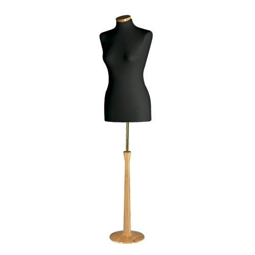 Damenbüsten Set schwarz