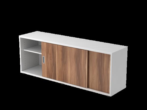 Sideboard 1758S/weiss-zwetschge