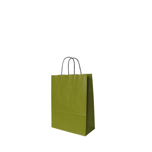 Papiertragetasche grün