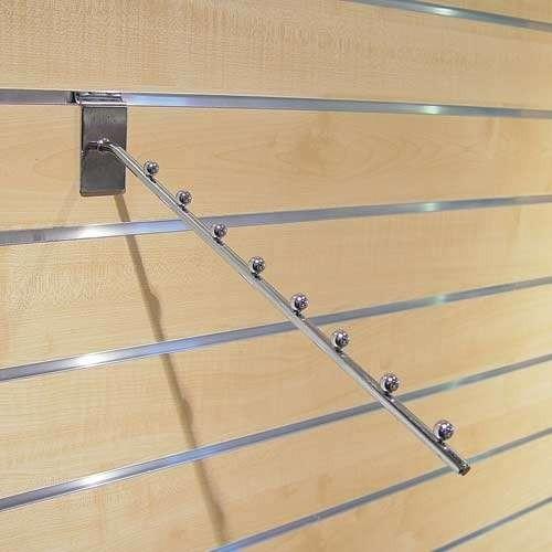 Schrägabhänger, Abhängearm - Lamellenwand