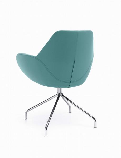 FAN 10HS-Sessel, Stoffbezug, Gestell drehbar