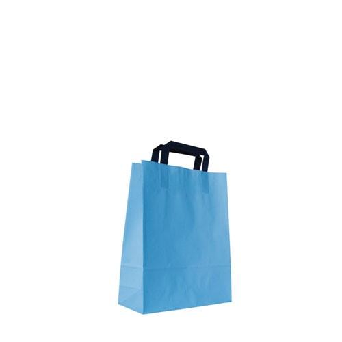 Papiertragetasche, hellblau